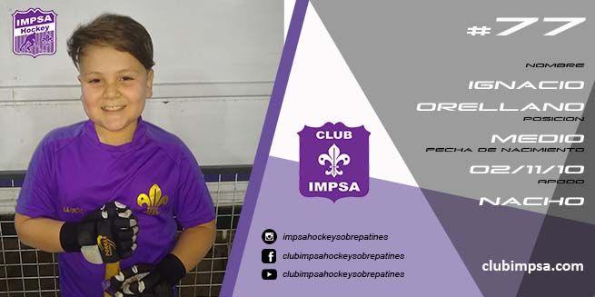Ignacio Orellano Club Impsa Hockey Sobre Patines