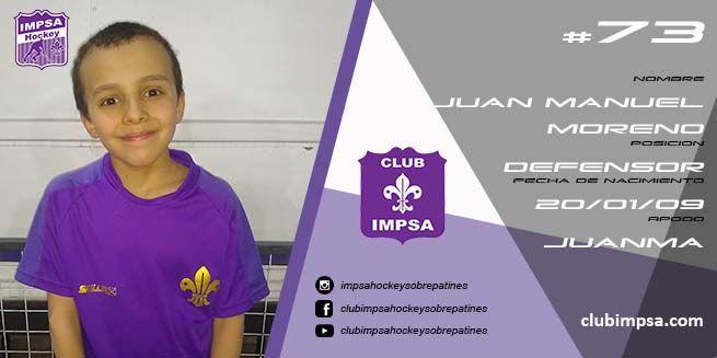 Juan Manuel Moreno Impsa Hockey Sobre Patines